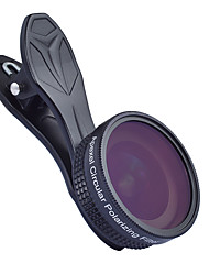 cheap -Mobile Phone Lens Lens with Filter / Wide-Angle Lens Glasses / Aluminium Alloy 1X 37 mm 0.16 m 112 ° New Design