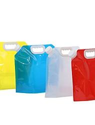 Недорогие -чайник 5000 ml синтетика Портативные для Отдых и Туризм На открытом воздухе 1 pcs Белый Красный Синий