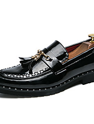 cheap -Men's Dress Shoes PU Spring & Summer / Fall & Winter Casual Loafers & Slip-Ons Walking Shoes Breathable Black / White / Red / Tassel