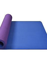 Недорогие -Коврик для йоги Мягкость, Эластичный, Липкий TPE Для Фиолетовый, Серый+Белый, Темно-серый