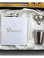 cheap -Personalized Stainless steel Barware & Flasks Groom / Groomsman Holiday / Wedding Party