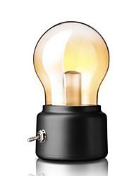 abordables -nouveauté créatif usb lumière de nuit rétro ampoule led lampe rechargeable interrupteur métallique ampoule atmosphère lampe vintage art bureau