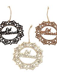 cheap -Ornaments Wood 3 Festival