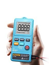 Недорогие -Цифровой мини-мультиметр zt08 8000 считает частоту линии Истинно-среднеквадратичное значение света вспышки переменного / постоянного тока Ом-мини частота ультратонкого вольтметра