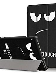 cheap -Case For Lenovo Lenovo Tab E10(TB-X104) / Lenovo Tab M10(TB-X605F) / Lenovo Tab P10(TB-X705F / L) Shockproof / Flip / Origami Full Body Cases 3D Cartoon Hard PU Leather