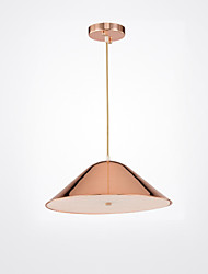 cheap -CONTRACTED LED® 3-Light Sputnik / Cone / Geometrical Pendant Light Ambient Light Painted Finishes Aluminum Matte, Creative, New Design 110-120V / 220-240V Warm White / Cold White