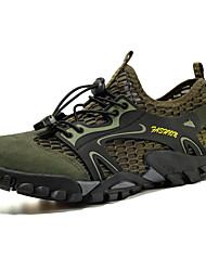 cheap -Men's Comfort Shoes Mesh Spring & Summer / Fall & Winter Sporty / Casual Athletic Shoes Hiking Shoes / Water Shoes Black / Brown / Gray