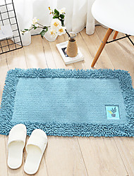 cheap -1pc Casual / Country Bath Mats / Bath Rugs Cotton Creative Non-Slip / Thickening