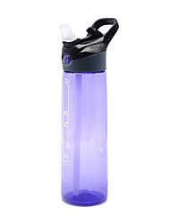 cheap -Sports Water Bottle Water Bottle 700 ml PP Durable for Camping / Hiking Cycling / Bike Traveling Black Violet Fuchsia Blue