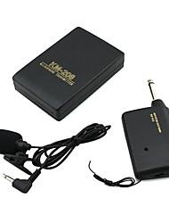 Недорогие -портативный микрофон с зажимом для галстука с беспроводным FM-передатчиком для обучения конференции