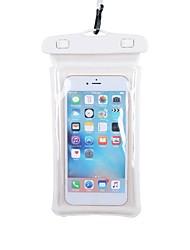 abordables -Super doux Mobile Bag Phone pour Pluie Etanche Diminue Irritation 10.6*22 pouce PVC 30 m