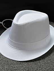 cheap -Basketwork / Double Layer Cloth Hats / Headpiece with Cap / Solid 1 Piece Wedding / Daily Wear Headpiece