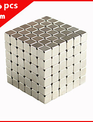 cheap -216 pcs 5mm Magnet Toy Magnetic Blocks Building Blocks Super Strong Rare-Earth Magnets Neodymium Magnet Neodymium Magnet Stress and Anxiety Relief Office Desk Toys DIY Kid's / Adults' / Children's