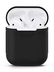 cheap -Headphone Case Silicon Orange / Red / Blushing Pink 1 pcs
