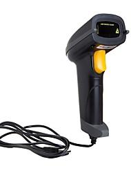 abordables -YUNEW A5L Scanner de code à barres Scanner USB filaire Lumière laser