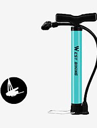 Недорогие -WEST BIKING® Велосипедные насосы Ножной велонасос Компактность Легкость Прочный Высокое давление Точное надувание Назначение Шоссейный велосипед Горный велосипед Велоспорт Легированной стали Синий