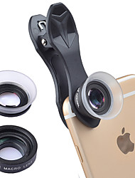 cheap -Mobile Phone Lens Macro Lens Glasses / ABS+PC 20X Macro 25 mm 15 m 80 ° Cute / Funny