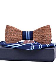 cheap -Men's Basic Bow Tie - Striped