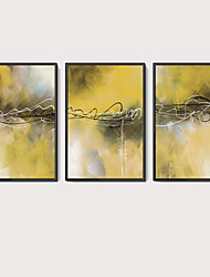 cheap -Framed Oil Painting - Abstract Acrylic Oil Painting Wall Art