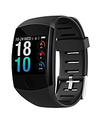 cheap -Indear Q11 Smart Bracelet Smartwatch Android iOS Bluetooth Smart Sports Waterproof Heart Rate Monitor Blood Pressure Measurement Pedometer Call Reminder Activity Tracker Sleep Tracker Sedentary