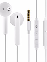 cheap -KawBrown Wired In-ear Earphone Universal Sports Earbuds 3.5mm Mobile Phone Stereo Headphones With Mic