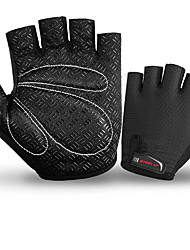 cheap -Half-finger Women's Motorcycle Gloves Cotton Cloth / leatherette / Mixed Material Breathable / Wearproof / Sunscreen