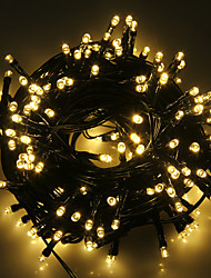 cheap -5m String Lights 20 LEDs 1Set Mounting Bracket 1 set Warm White / Cold White / RGB Waterproof / Solar / Party Solar Powered