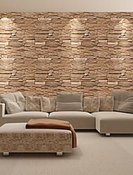 cheap -Wallpaper Vinylal Wall Covering - Self adhesive Art Deco / Brick