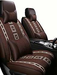cheap -Car Seat Covers Headrest & Waist Cushion Kits Black / Beige / Coffee Artificial Leather / synthetic fibre Business / Common For universal All years General Motors