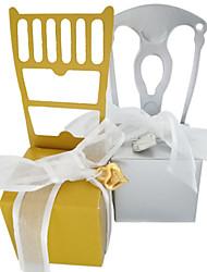 Недорогие -Необычные Розовая бумага Фавор держатель с Атласный бант Товары для дома / Подарочные коробки - 50 ед.