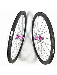 cheap -FARSPORTS 700CC Wheelsets Cycling 23 mm Road Bike Carbon Fiber Clincher 20/24 Spokes 50 mm