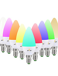 cheap -1pc 5 W LED Smart Bulbs 360 lm E14 C37 20 LED Beads SMD 2835 APP Control Smart Remote-Controlled RGB&CW RGB+Cold&Warm White 85-265 V