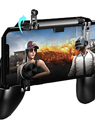 cheap -PUGB Mobile Game Controller Free Fire PUBG Mobile Joystick Gamepad Metal L1 R1 Button for iPhone Gaming Pad Android