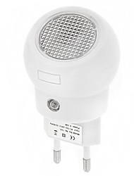 cheap -Wall Plug Nightlight Human Body Sensor / EU AC Powered 1pc