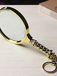 cheap -1832504S Hand Held Magnifying Glass 10X For Office and Teaching For Outdoor Sporting