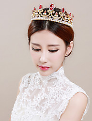cheap -Headbands / tiaras / crown Hair Accessories Alloy Wigs Accessories Women's 1 pcs pcs 13cm(Approx5inch) cm School / Quinceañera & Sweet Sixteen / Festival Headpieces Kids / Teen / Generic / Youth