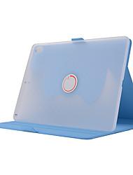 Недорогие -Кейс для Назначение Apple iPad Pro 10.5 Защита от удара / со стендом / Авто Режим сна / Пробуждение Чехол Однотонный Мягкий Кожа PU