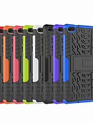 cheap -Case For Lenovo Lenovo Tab E7(TB-7104) Shockproof / with Stand Back Cover Armor Hard Plastic