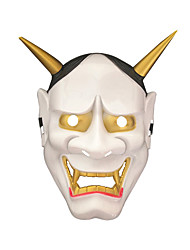 cheap -Cosplay Costume Mask Halloween Mask Inspired by Cosplay White Red Cosplay Halloween Halloween Carnival Masquerade Adults' Men's Women's