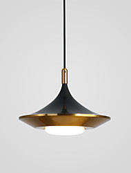 cheap -1-Light LED® 35 cm LED / Cool Chandelier Metal Cone / Geometrical Electroplated Nature Inspired / Modern 110-120V / 220-240V