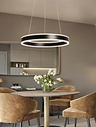 cheap -2-Light LED Pendant Light Metal Acrylic Circle Painted Finishes Modern Contemporary 110-120V 220-240V