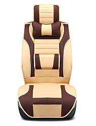 cheap -Car Seat Covers Seat Covers Brown / Orange / Beige PU(Polyurethane) Business For universal All years
