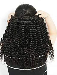 cheap -3 Bundles Brazilian Hair Deep Wave Remy Human Hair Headpiece Natural Color Hair Weaves / Hair Bulk Extension 8-28 inch Natural Color Human Hair Weaves Soft Fashion Thick Human Hair Extensions