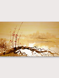 cheap -IARTS®Hand Painted abstract Oil Painting with Stretched Frame For Home Decoration