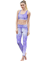 cheap -Catsuit Swimsuit Swimwear Cosplay Costumes Beach Girl Adults' Cotton Cosplay Costumes Cosplay Halloween Women's Purple Printing Christmas Halloween Carnival / Vest / Pants / Vest / Pants