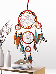cheap -Handmade Dream Catchers Traditional Indian Style Wall Art Decoration