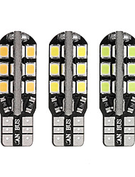 cheap -1 Piece T10 / W5W Car Light Bulbs 2 W SMD 2835 250 lm 24 LED License Plate Lights / Interior Lights / Side Marker Lights For Toyota / Benz / Honda All Models All years