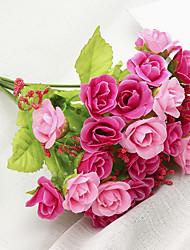 Недорогие -Искусственные Цветы 1 Филиал Классический Современный современный Пастораль Стиль Розы Букеты на стол