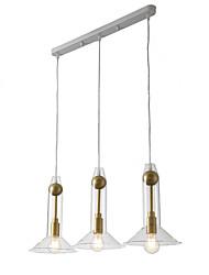 cheap -ZHISHU 3-Light 20 cm WIFI Control Pendant Light Metal Glass Sputnik Industrial Novelty Electroplated Contemporary Chic & Modern 110-120V 220-240V