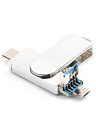 Недорогие -32 Гб флешка диск USB USB 3.0 / Аудио / Type-C Металл Необычные Беспроводной диск памяти